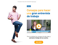 Email Marketing: elempleo VIP - Video