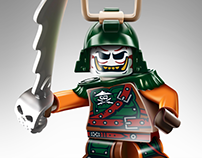 Lego Ninjago - Illustrations
