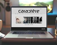 Agence Cactère| Site Web