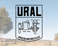 Ural Motorcycles - T-shirt Designs