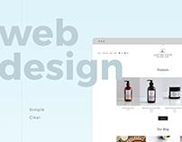 Web Design & Development - Justine Coste