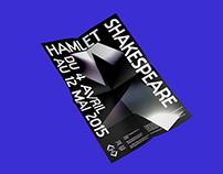 Hamlet Shakespeare  / poster