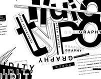 """Fluid Typography"" Poster Design"