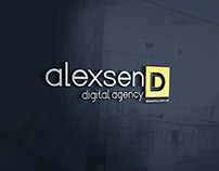 ALEXSEND | Digital agency Logo