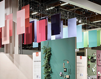 Tikkurila Fair stand at Habitare