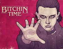 Stranger Things 2 - Bitchin poster