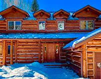 Custom Log Home Restoration