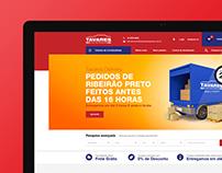 E-commerce Tavares Auto Peças