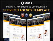 IMGRA Immigration Business Consultancy Agency Template