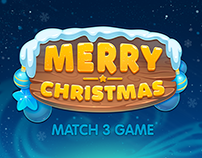 Merry Christmas match 3 game