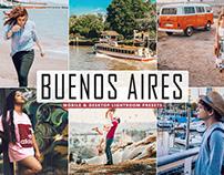 Free Buenos Aires Mobile & Desktop Lightroom Presets