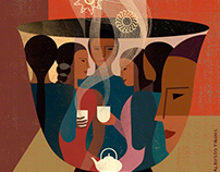 Illustrations series - Alumnae Mount Holyoke College