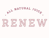 Renew - All Natural Juice