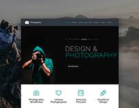 Photography WordPress Theme - Gallery Site Builder