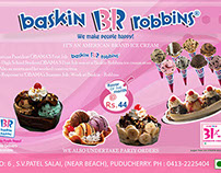 Brouchers for Baskin & robbins