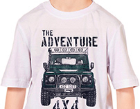 THE ADVENTURE GRAPHIC TEES