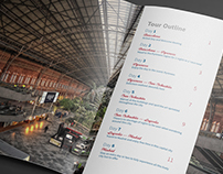 Barcelona to Madrid | Conceptual Tour Brochure
