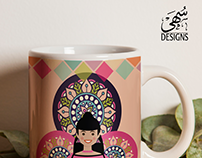 Mug designs 4 birth of prophet