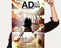 Cartel::;AD2016CarpaElectrónica