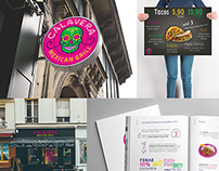 Calavera - multiple designs, branding, website etc.