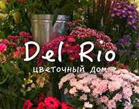 """Сайт для Цветочного дома """"Del Rio"""""""