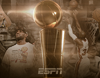 Social graphic for the 2014 NBA Finals
