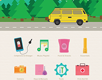 10 Things the Best Road Trips Have (Infographic)