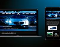 Mercedes Benz Concept Website
