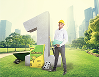 Lafarge Holcim - Number 1 Cement Bag - Campaign