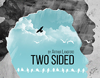 "Book cover _ ""Two  Sided"""