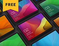 Free iPad Pro Mockup Set | Tablet Screen