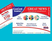 Medicine new offer advertising design plate