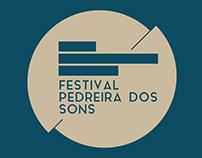 Festival Pedreira dos Sons 2017 - Proposta de Imagem