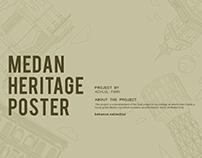 MEDAN HERITAGE POSTER