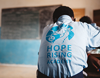 Hope Rising Academy Branding
