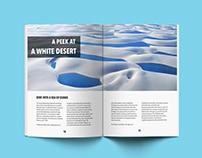 Geography Magazine Mock Up Practice