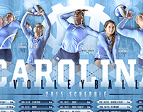 2015 UNC Volleyball