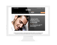 L'ORÉAL MEN EXPERT / Website Design