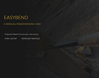 EASYBEND - A Manual Rebar Bender Skid
