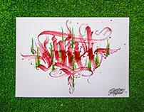 Calligraphy & Calligraffiti mix collection 5