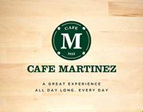 Cafe Martinez Menu