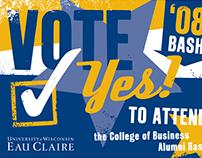 UW-Eau Claire College of Business Alumni Bash, 2008