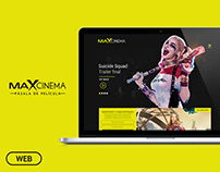 Website Design - Maxcinema