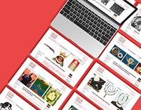 International Arts & Artists Web Design