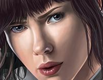 Scarlett Johansson - Major Ghost in the Shell