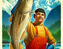 Alaskan Seafood Market