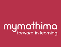 mymathima.eu IDENTITY and UI design