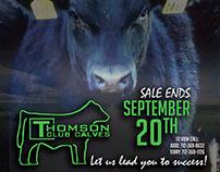 Thomson Club Calves Fall Sale