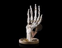 Skeleton Hand Jewellery Tidy
