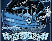 Pôster Dead Fish 25 anos